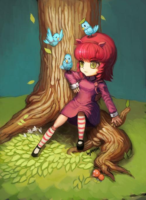 Annie. League Of Legends. [SFW] - part 2