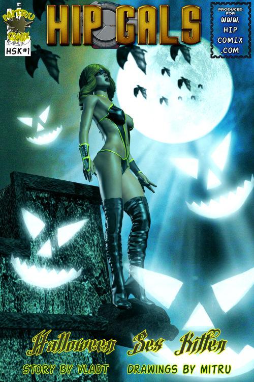 Hip Gals - Halloween Sex Kitten - Part 1-16