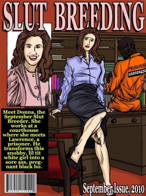 Slut Breeding 3 & 4- illustrated interracial